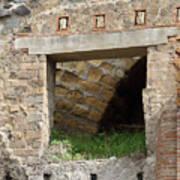 Textural Antiquities Herculaneum Four Art Print