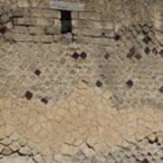 Textural Antiquities Herculaneum Wall One Art Print