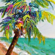 Texture Palm Art Print