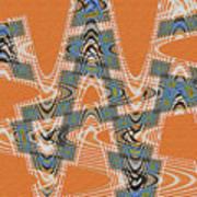 Textured Abstract # 2060ew4dt Art Print