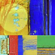 Textures Of A Thurdsay Art Print