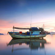 Thai Fishing Boat Art Print