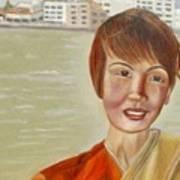 Thai Hostess Art Print