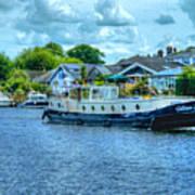 Thames Tug Boat Art Print