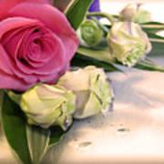 Thank You Rose Bouquet  Art Print