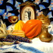 Thanksgiving Of The Past Art Print