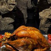 Thanksgiving Turkey For Us Military Servicemen Art Print