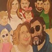 That Crazy Family Art Print