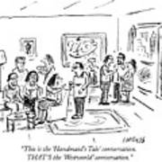 That Is The Westworld Conversation Art Print