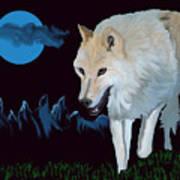 That Wolf Art Print