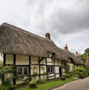 Thatched Cottages Of Hampshire 14 Art Print