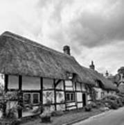 Thatched Cottages Of Hampshire 15 Art Print