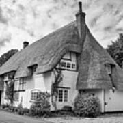 Thatched Cottages Of Hampshire 17 Art Print