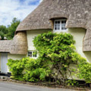Thatched Cottages Of Hampshire 19 Art Print
