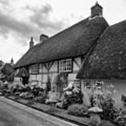 Thatched Cottages Of Hampshire 22 Art Print