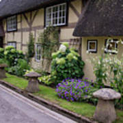 Thatched Cottages Of Hampshire 24 Art Print