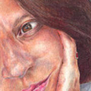 That's Me  Art Print by Melissa J Szymanski