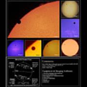 The 2012 Transit Of Venus Art Print
