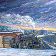 The 501 In Winter Art Print