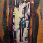 the 7 contemporary sins - Vanity Art Print
