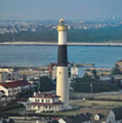 The Absecon Lighthouse In Atlantic City New Jersey Art Print