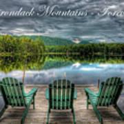 The Adirondack Mountains - Forever Wild Art Print