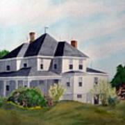 The Adrian Shuford House - Spring 2000 Art Print