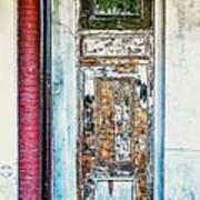 The Aged Door Art Print
