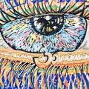 The All Seeing All Colourfull.... Art Print