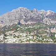 The Amalfi Coast - Panorama Art Print