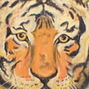 The Amber Stare Art Print