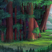 The Ancient Forest Art Print