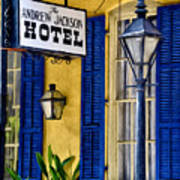 The Andrew Jackson Hotel - New Orleans Art Print