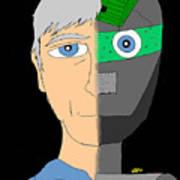 The Android- Douglas Kerrigan Art Print