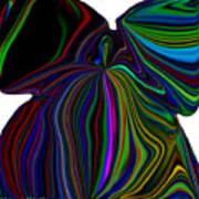 The Angel Of The Rainbow Art Print