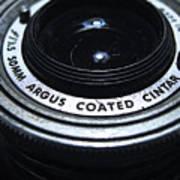 The Angle Of The Lens Art Print