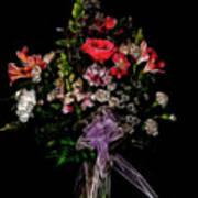 The Anniversary Bouquet Art Print