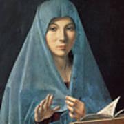 The Annunciation Print by Antonello da Messina