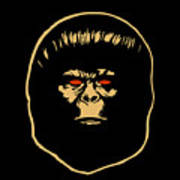 The Ape Art Print