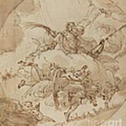 The Apotheosis Of San Vitale Art Print