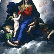 The Apparition Of The Virgin Art Print