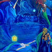 The Aquarian Family Tree  Art Print