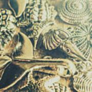 The Aquatic Abstraction Art Print