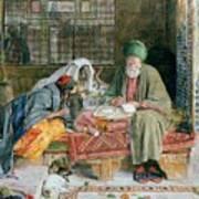 The Arab Scribe Cairo Art Print