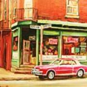 The Arcadia Five And Dime Store Art Print