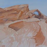 The Arch Rock Experiment - Vi Art Print