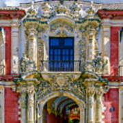 The Archbishop's Palace Of Seville Art Print
