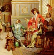The Arrival Of D'artagnan Art Print