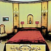 The Art Deco Bedroom Art Print