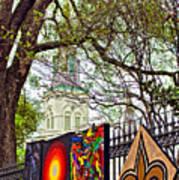 The Art Of Jackson Square Art Print